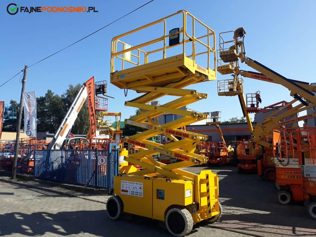 Iteco IT 12151 4069 3969 4047, Podnośniki nożycowe, Maszyny budowlane