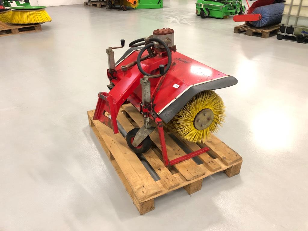 HTF Kost 110, Kompakttraktor tilbehør, Have & Park