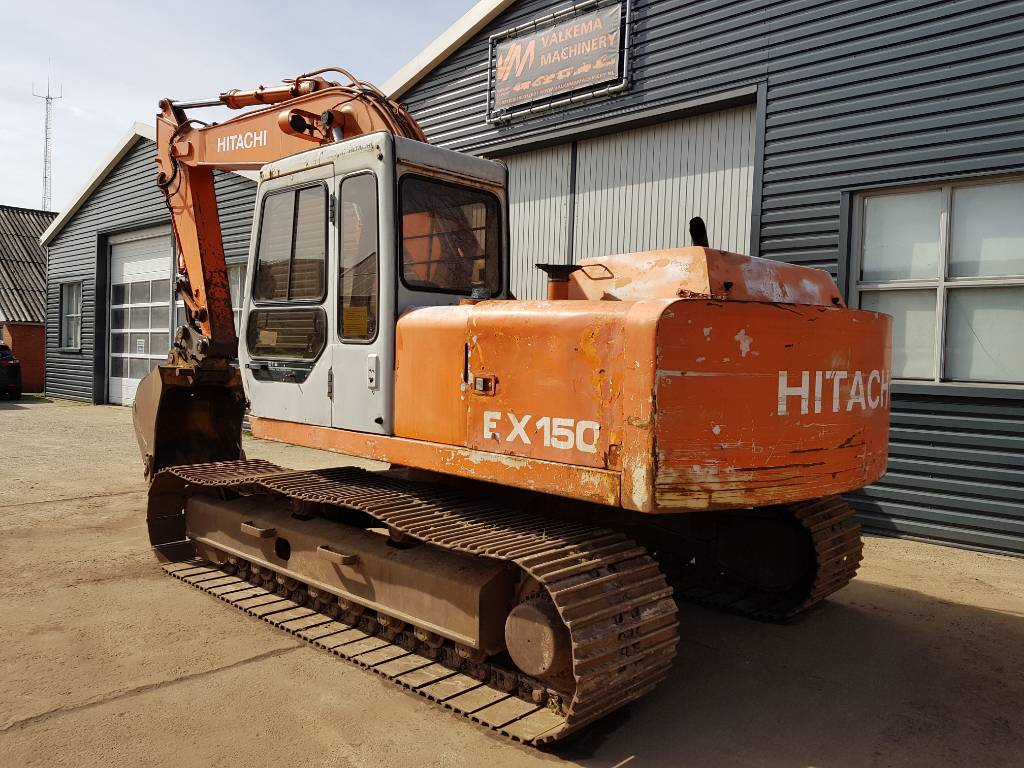 Hitachi EX150 IV ENGINE, Rupsgraafmachines, Bouw