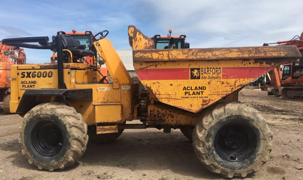 Barford SX 6000, Site dumpers, Construction