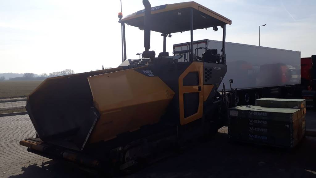 Volvo ABG6820C, Asphalt pavers, Construction Equipment