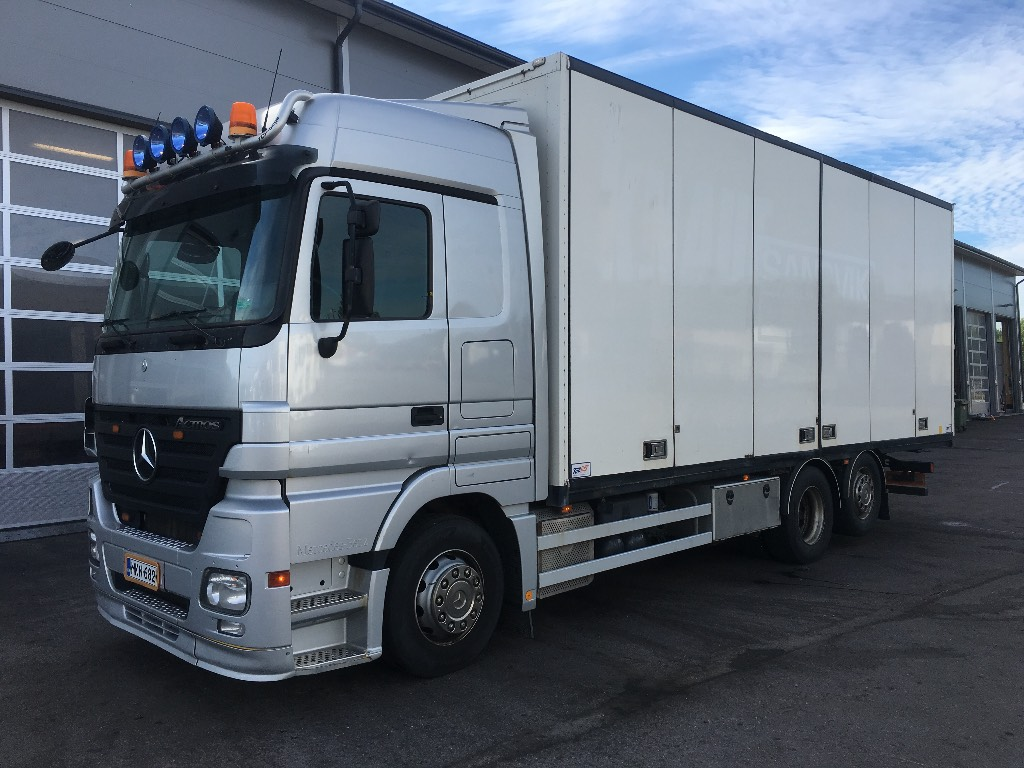 Mercedes-Benz Actros 2544 L 6x2, Box body trucks, Transportation