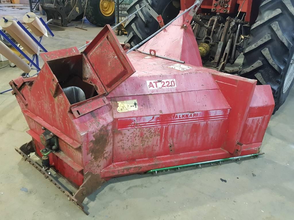 Traktorin lumilinko AT-220, Lumilingot, Maatalous