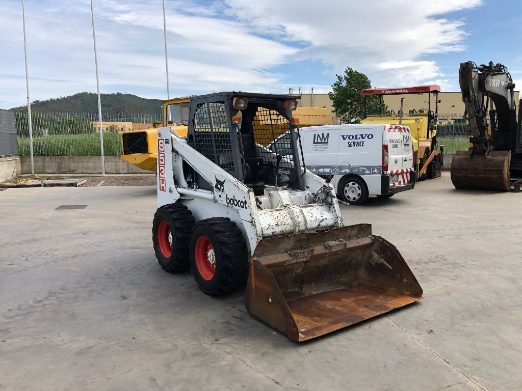 Bobcat 853H, Skid Steer Loaders, Construction Equipment