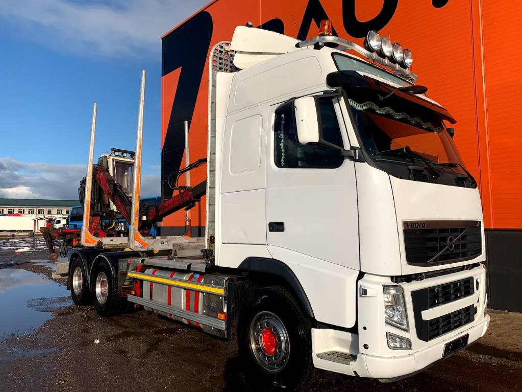 Volvo FH 500 6x4 Timber truck, Log trucks, Trucks and Trailers