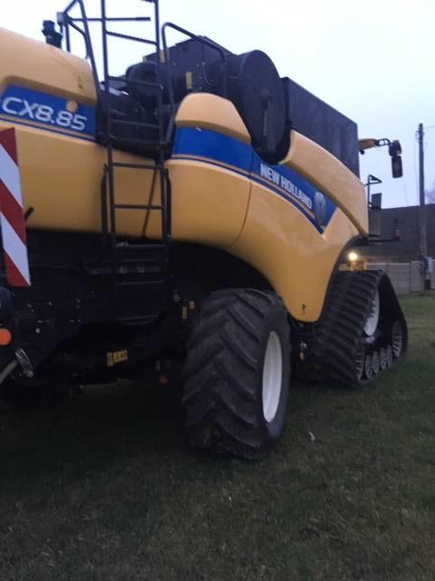 New Holland CX8.85 SL tracks, Kombainid, Põllumajandus
