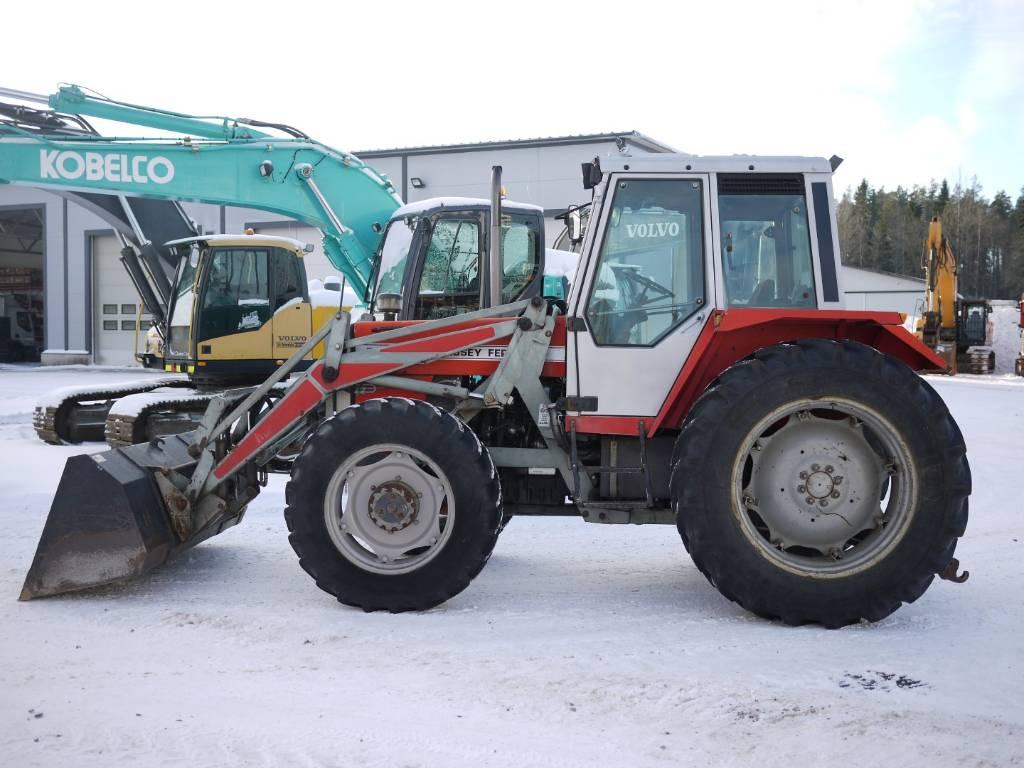 Massey Ferguson 698T 4X4 ETUKUORMAAJA, KAUHA, Traktorit, Maatalous