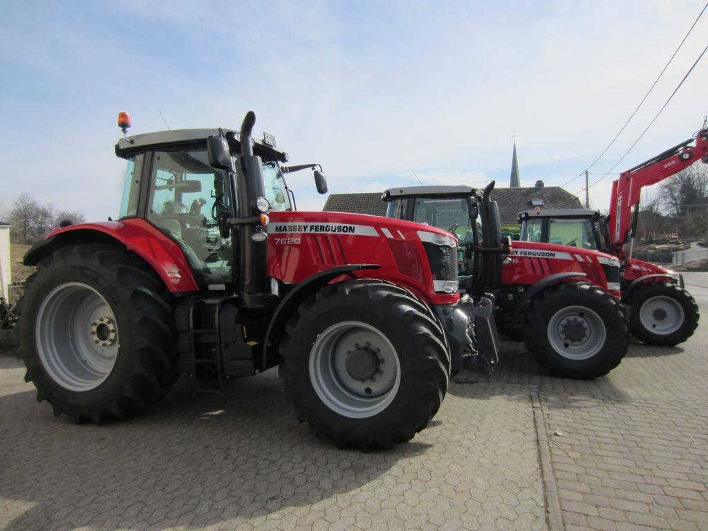 Massey Ferguson 7620 Dyna-VT EXCLUSIVE, Tracteur, Agricole