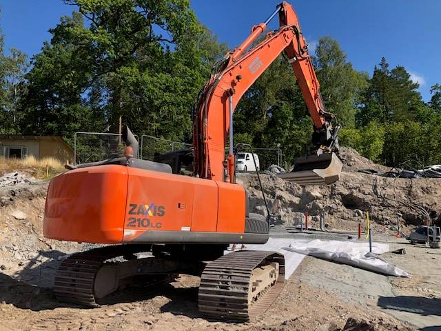 Hitachi ZX210LC-5B, Crawler Excavators, Construction Equipment