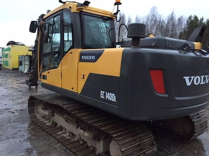 Volvo EC140DL, Crawler Excavators, Construction Equipment