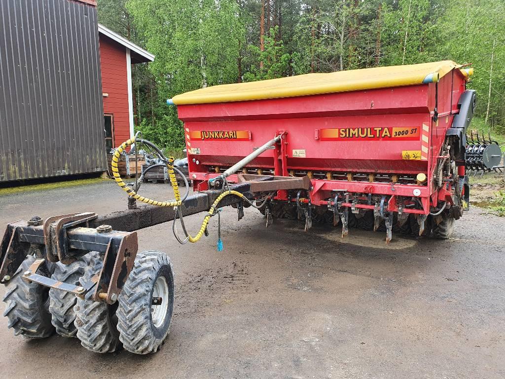 Junkkari 3000 ST, Kylvölannoittimet, Maatalous