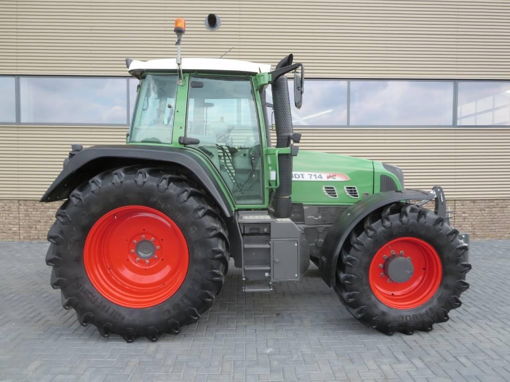 Fendt 714 vario tms com3, Tractoren, Landbouw