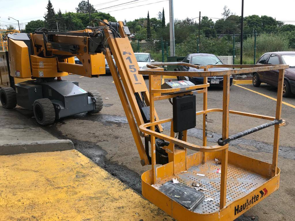 Haulotte HA15 IP 440, Articulated boom lifts, Construction Equipment