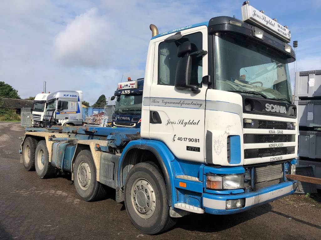 Scania DT1202 / 470 HK - EURO 3 - HPI, Motorer, Transport