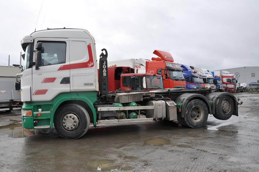 Scania R480LB6X2*4HNA, Lastväxlare/Krokbilar, Transportfordon