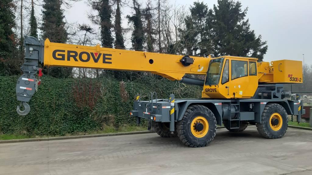 Grove RT 530 E-2, Rough terrain cranes, Construction