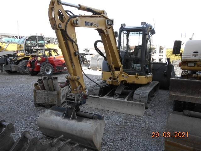 Komatsu PC 45 MR-3, Mini excavators, Construction Equipment