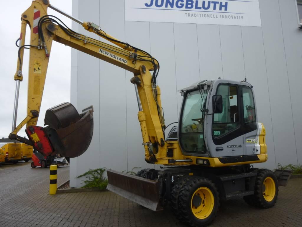 New Holland MH 2.6, Wheeled Excavators, Construction Equipment