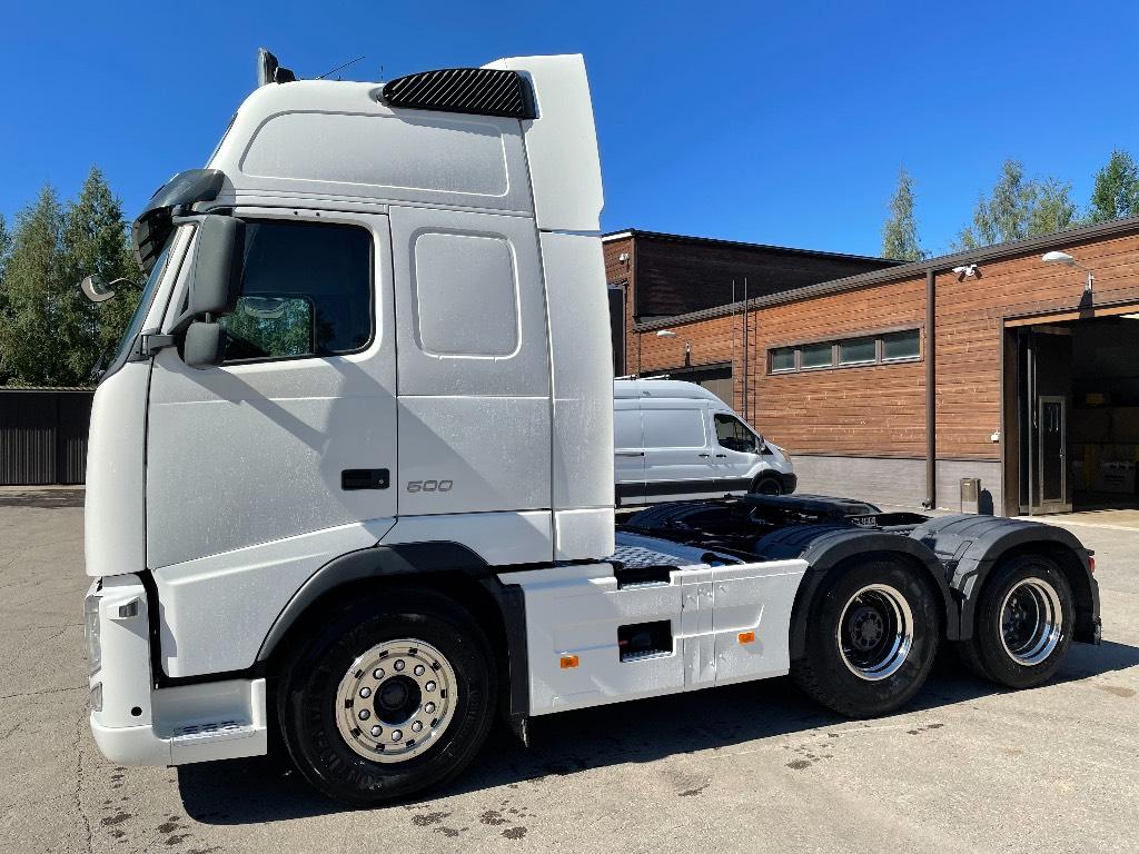 Volvo FH500XL 6x2 hydrauliikalla, Vetopöytäautot, Kuljetuskalusto