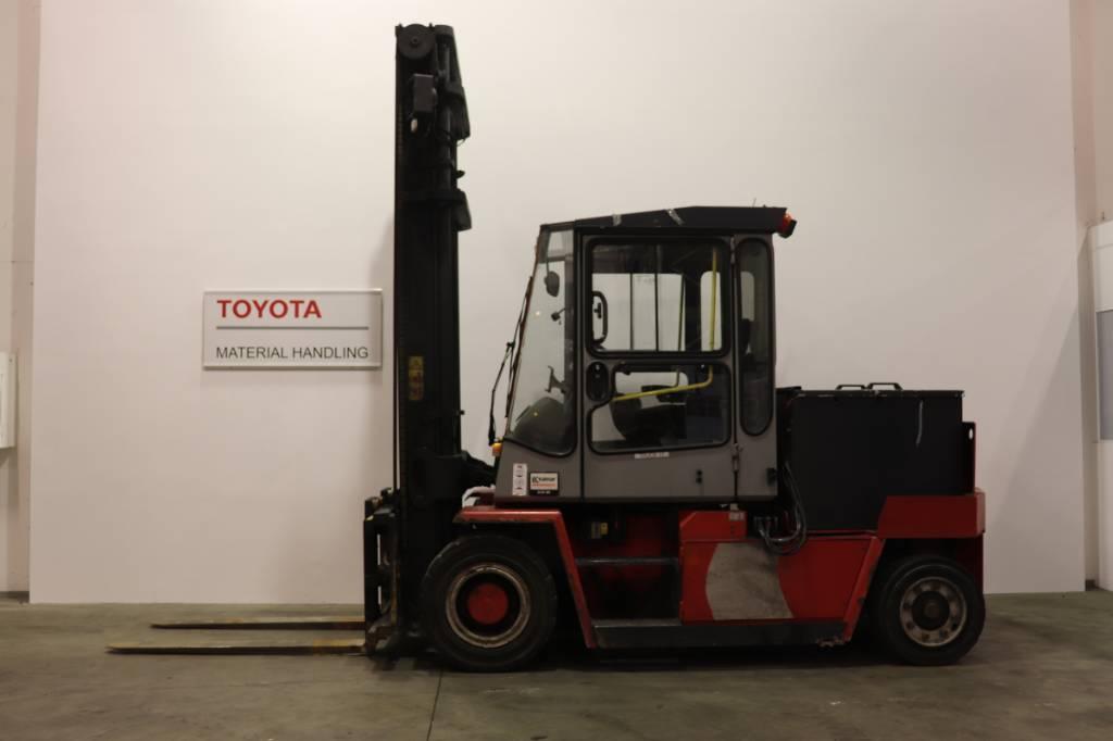 Kalmar ECD60-6, Electric forklift trucks, Material Handling