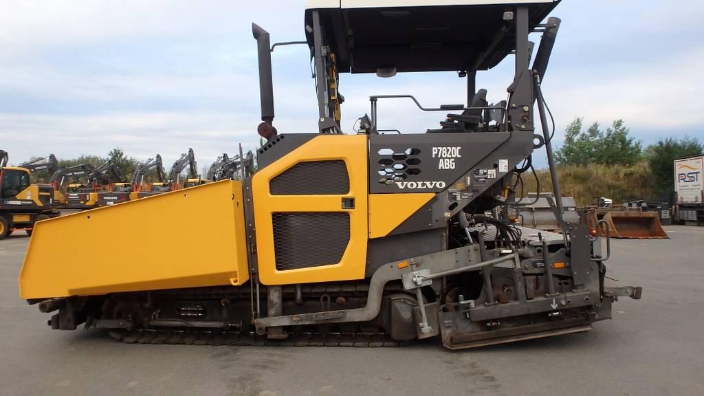 Volvo 7820 C, Strassenfertiger, Baumaschinen