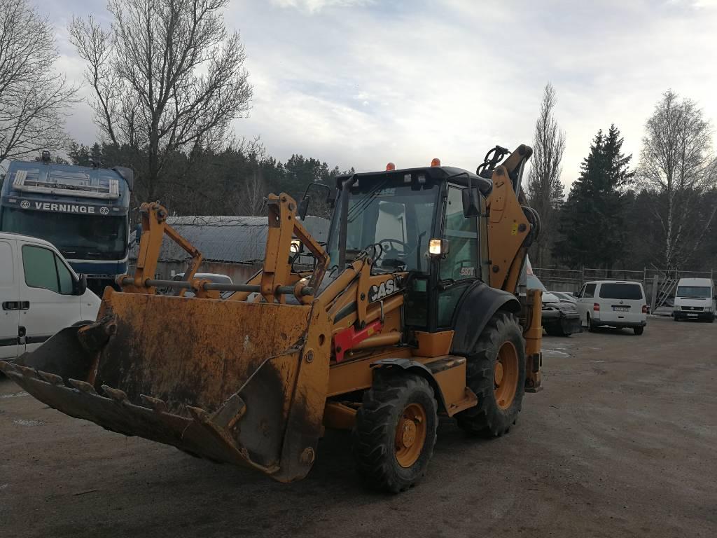 CASE 580 T, Ekskavatori-iekrāvēji, Būvtehnika