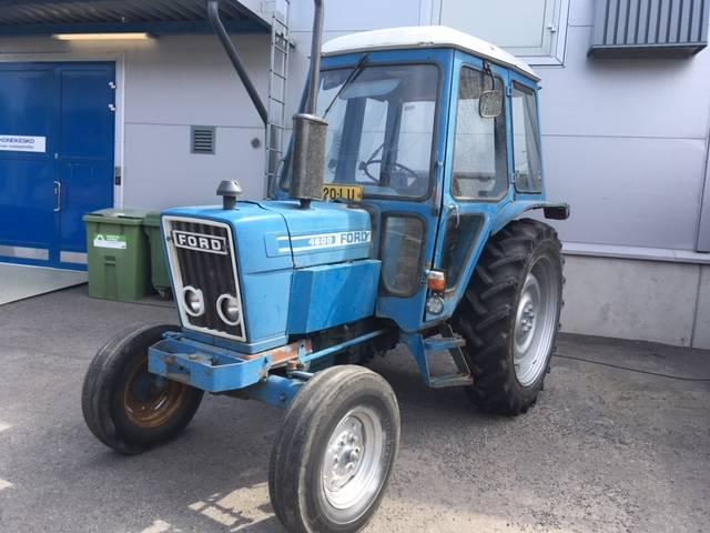Ford 4600-2, Traktorit, Maatalouskoneet
