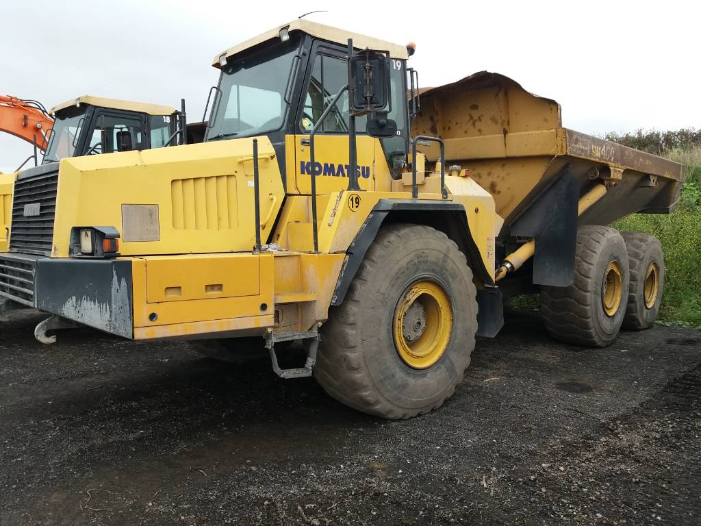 Komatsu HM400-1, Articulated dump trucks, Construction Equipment