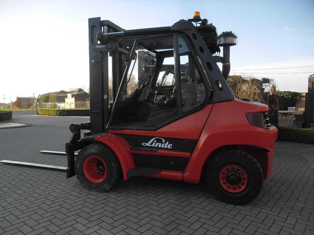 Linde H70D-2, Diesel heftrucks, Laden en lossen