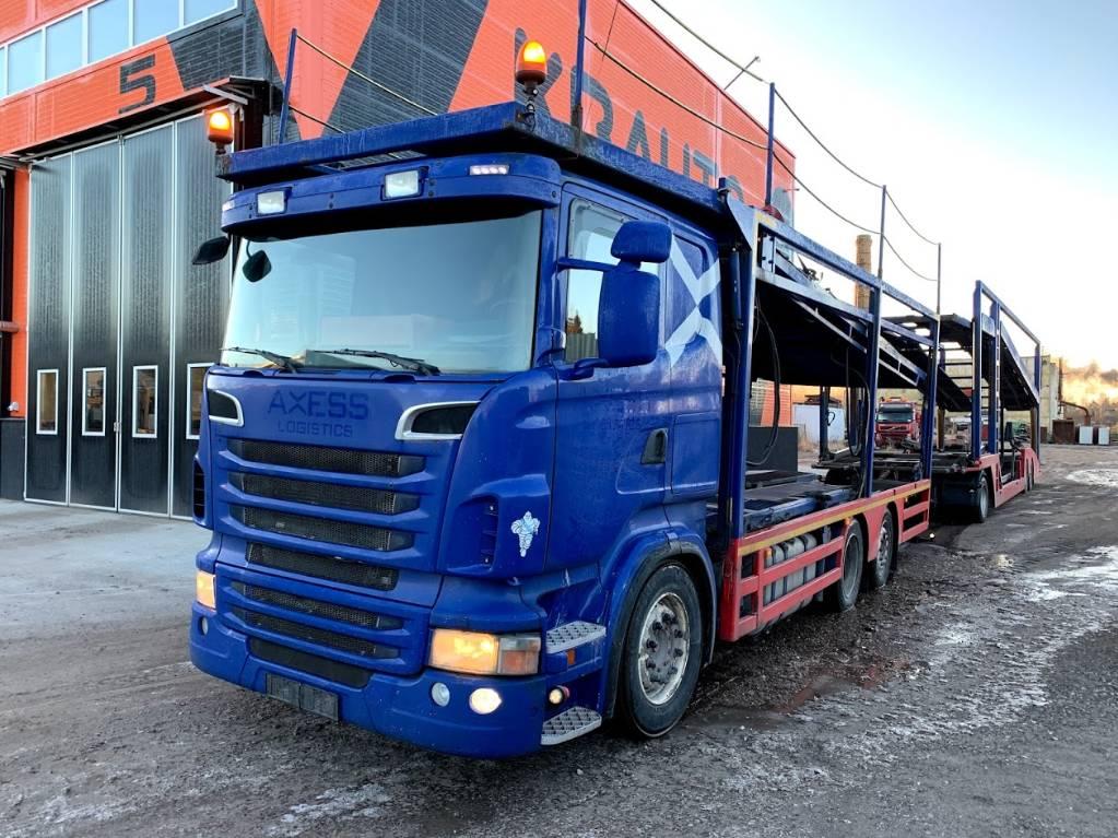 Scania R500 Manual, Car Haulers, Trucks and Trailers