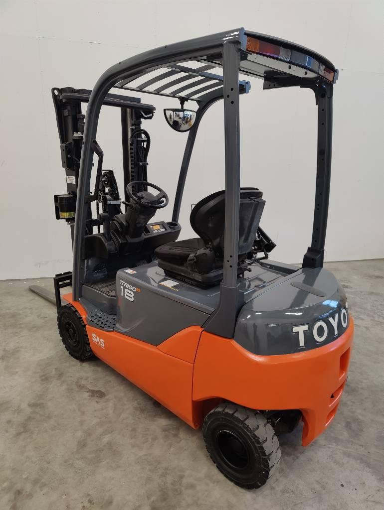 Toyota 8 FB MT 18, Sähkötrukit, Materiaalinkäsittely
