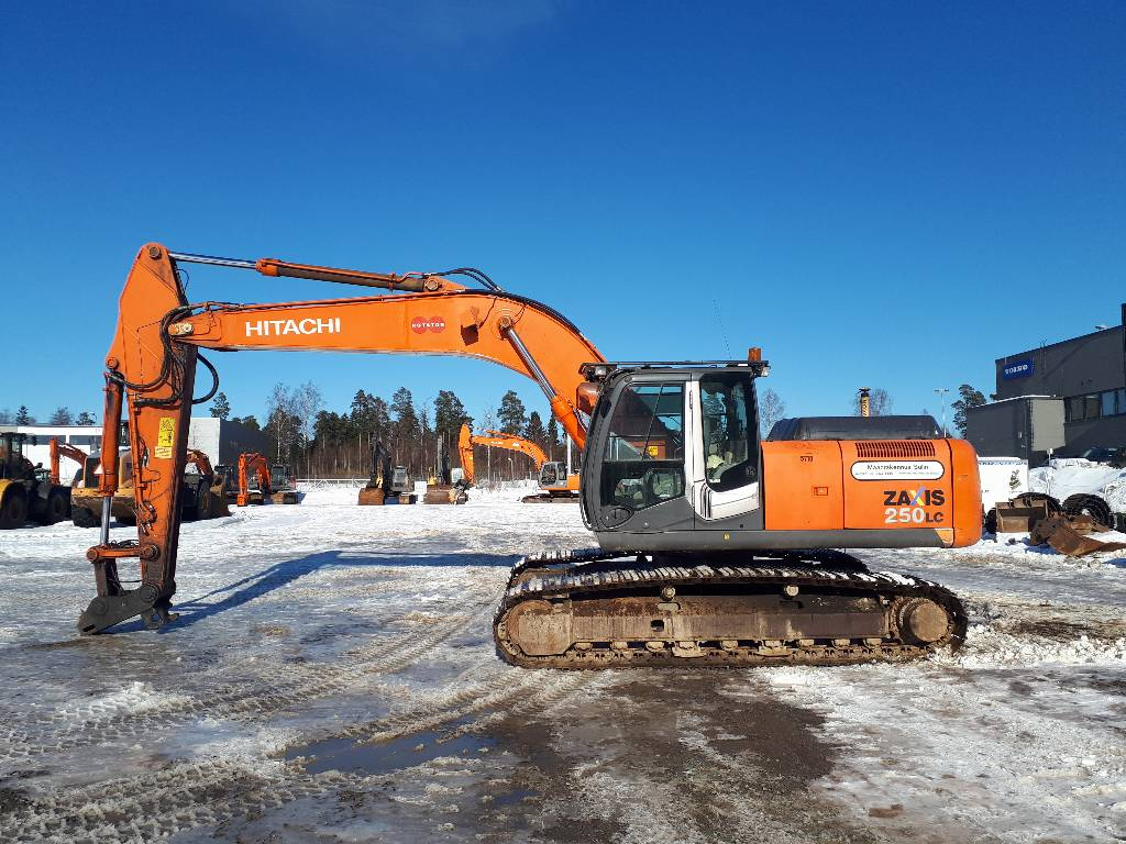 Hitachi ZX250LC-3, Crawler excavators, Construction