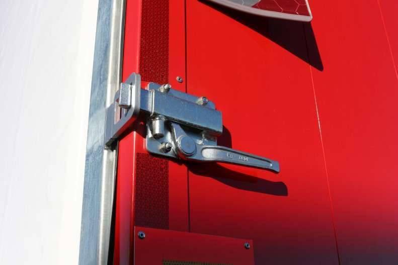 KEL-BERG D500V Gardin 2 Akslet CITYtrailer, Kapell trailer/semi, Transport
