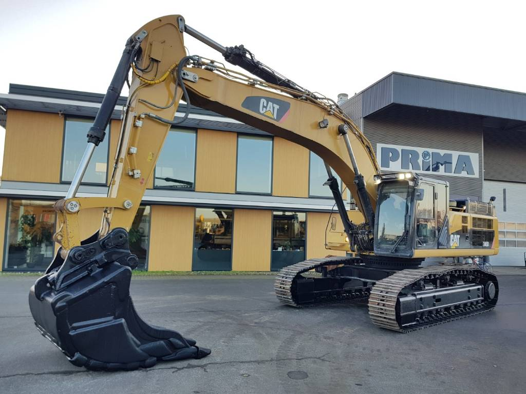 Caterpillar 345 D L, Crawler Excavators, Construction Equipment
