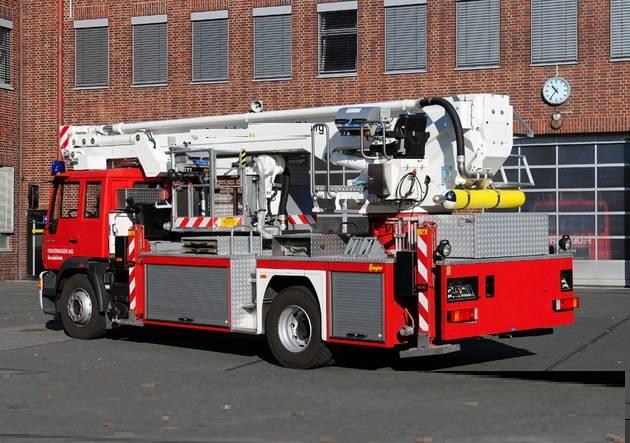 Bronto Skylift TLK 23-12, Truck mounted aerial platforms, Construction