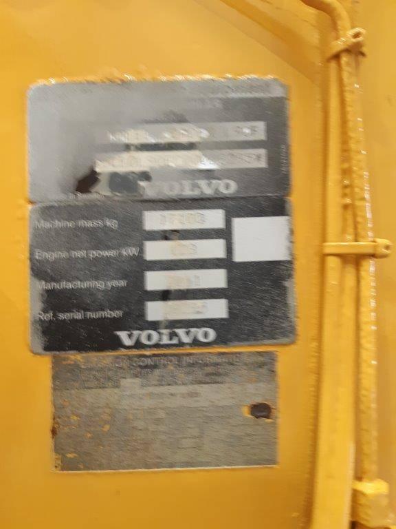 Volvo L 90 F, Cargadoras sobre ruedas, Construcción