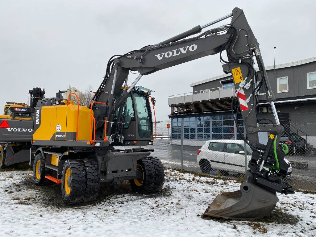 Volvo EWR 150E, Hjulgrävare, Entreprenad
