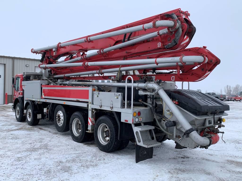 Putzmeister BSF 38-4.16H, Boom Pumps, Construction Equipment