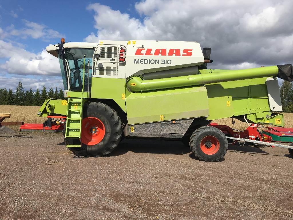 CLAAS Medion 310 4WD, Leikkuupuimurit, Maatalous