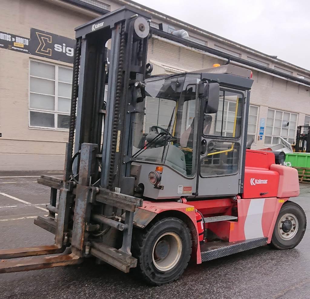 Kalmar DCE 80-9 HE, Dieseltrukit, Materiaalinkäsittely