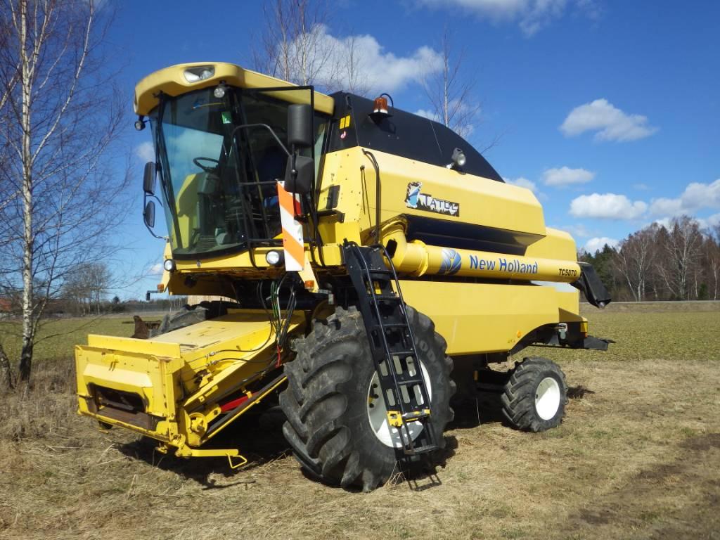 New Holland TC 5070, Kombainid, Põllumajandus