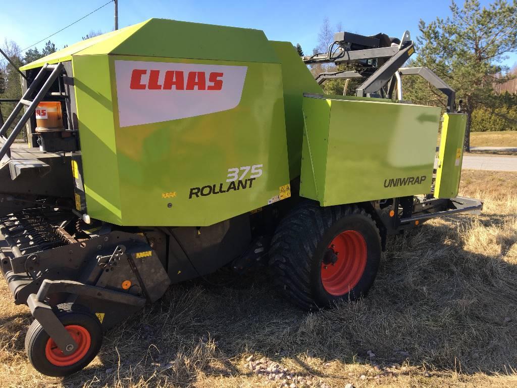 CLAAS Rollant 375 Uniwrap, Pyöröpaalaimet, Maatalous