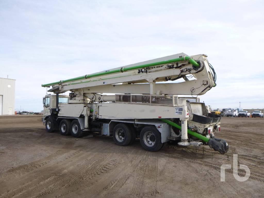 Schwing 52M, Boom Pumps, Construction Equipment