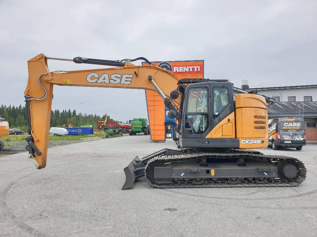 CASE CX245D SR LC Blade, Telakaivukoneet, Maarakennus