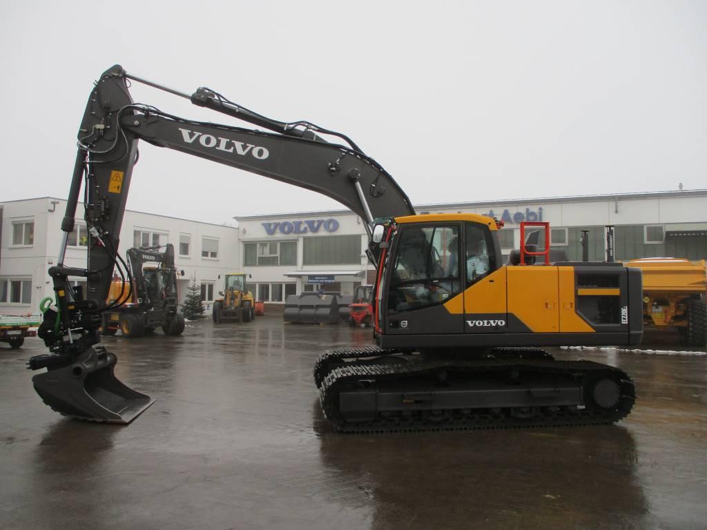 Volvo EC 220 E, Crawler Excavators, Construction Equipment