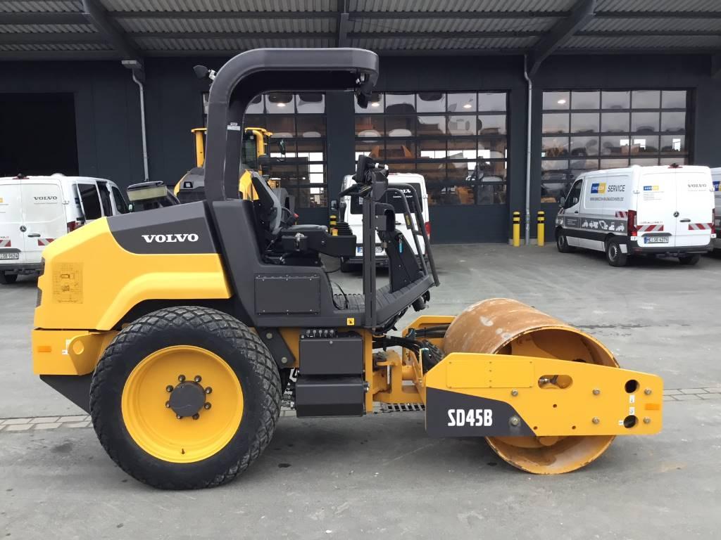 Volvo SD 45B, Soil Compactors, Construction Equipment