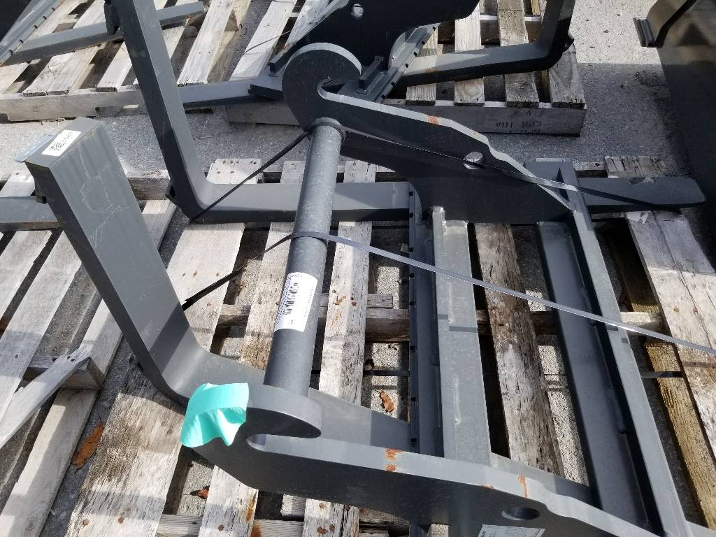 "Weidemann 48"" Hook and Pin Pallet Forks, Wheel Loader Attachments, Products"
