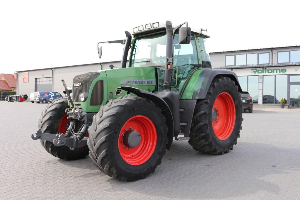 Fendt 818 Vario TMS, Traktory, Maszyny rolnicze