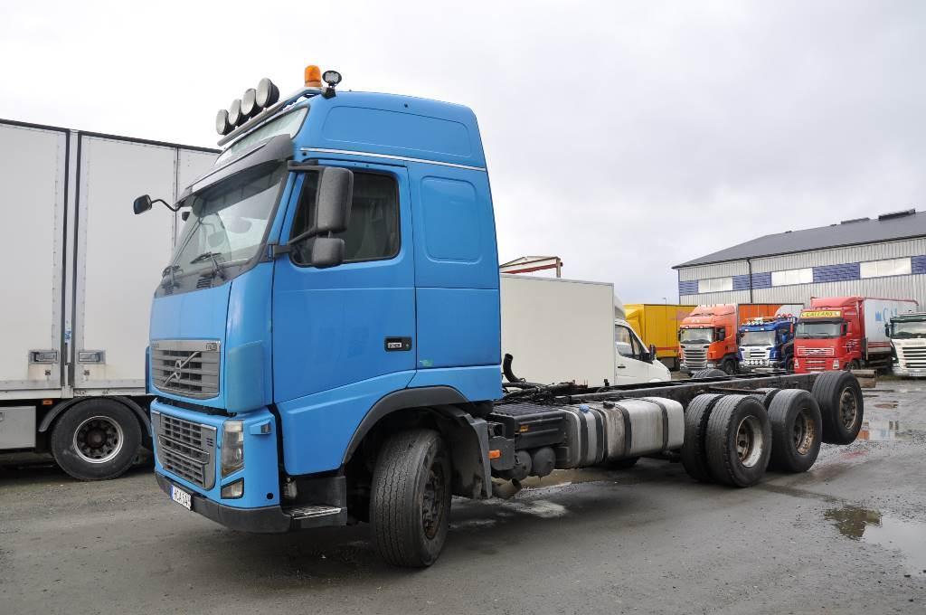 Volvo FH16 8X4 750, Chassier, Transportfordon
