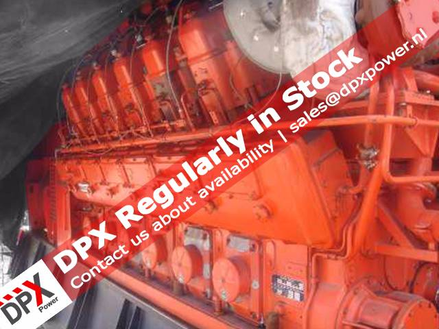 Scania DC9 Generatorset, Diesel generatoren, Bouw